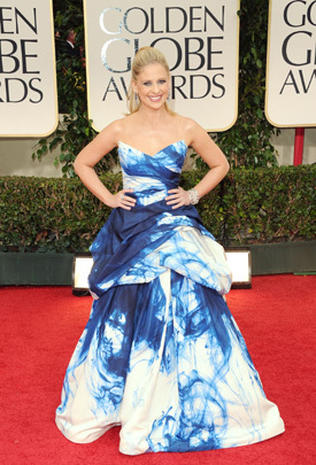 Golden Globes 2012 red carpet