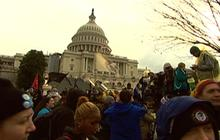 """Occupy"" protesters take on Congress"