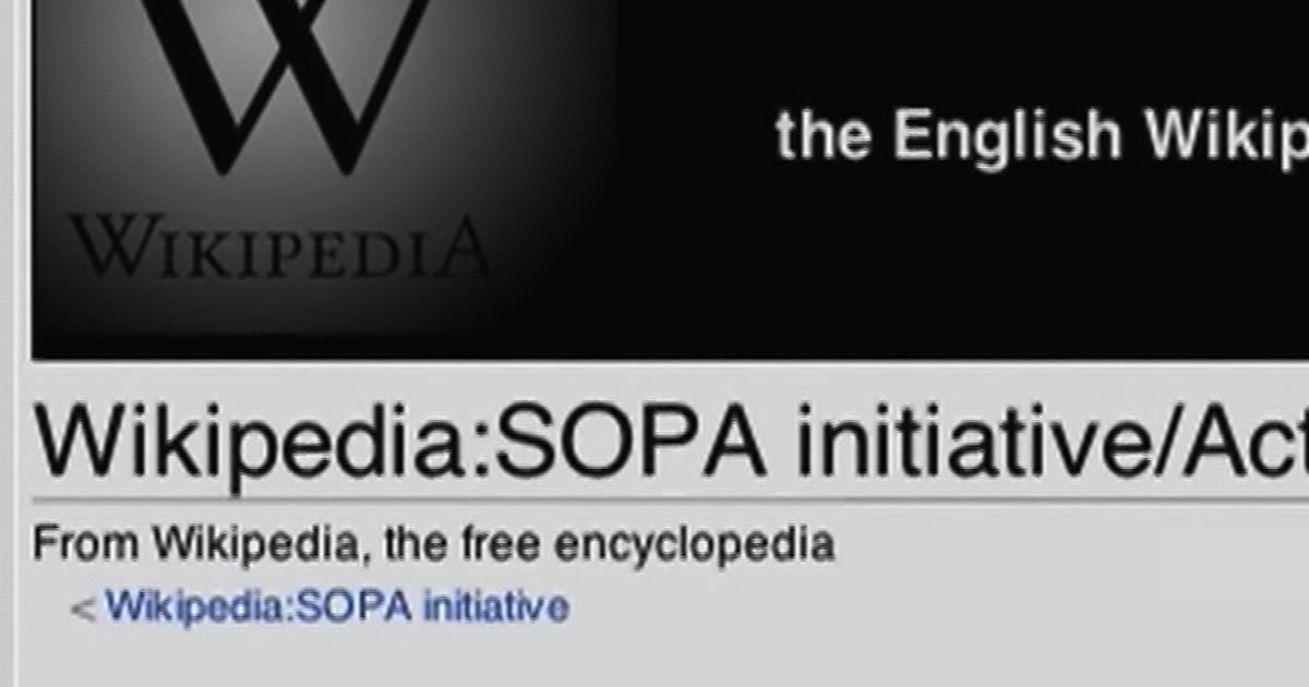 wiki protests against sopa pipa