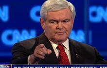Gingrich slams CNN for asking about ex-wife
