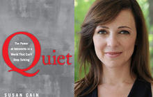 """""""Quiet: The Power of Introverts in a World That Can't Stop Talking,"""" by Susan Cain"""