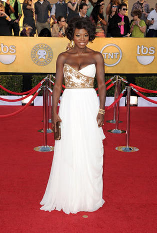 SAG Awards 2012 red carpet