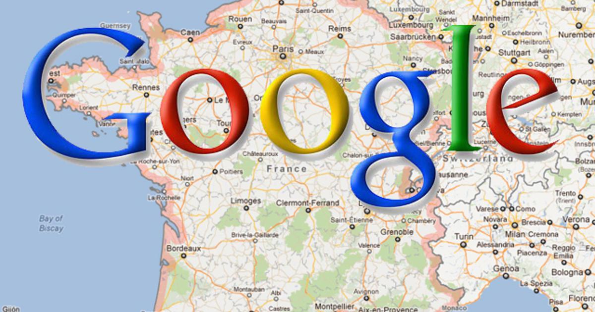 google fined 660 000 for providing google maps for free cbs news. Black Bedroom Furniture Sets. Home Design Ideas