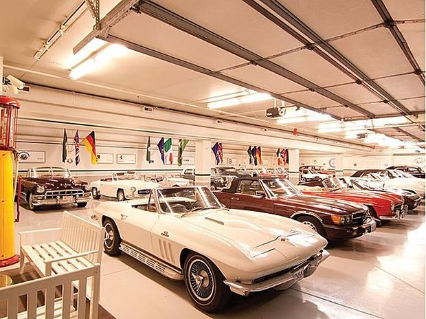 Celebrity Garages Any Gearhead Would Want Cbs News