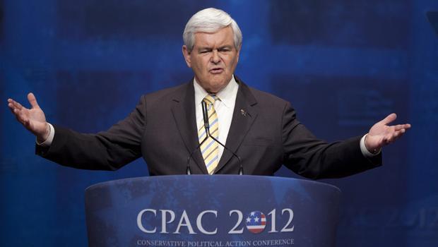 Newt Gingrich, CPAC