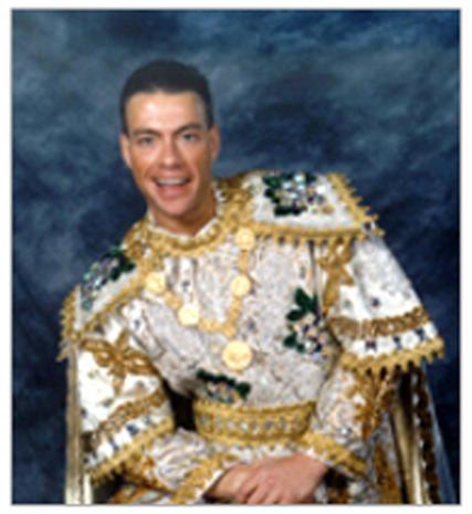 Mardi Gras celebrity kings