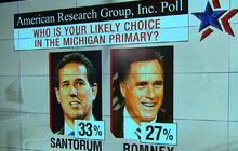 Romney now trailing Santorum in Mich.
