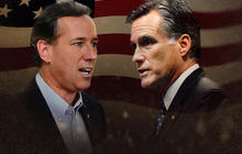 Candidates target Santorum ahead of Michigan primary