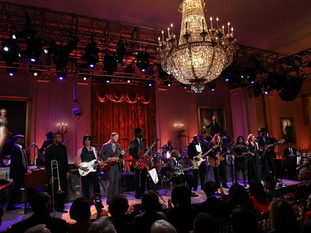 Blues at the White House
