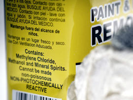 methylene chloride, cdc, bathtub, paint