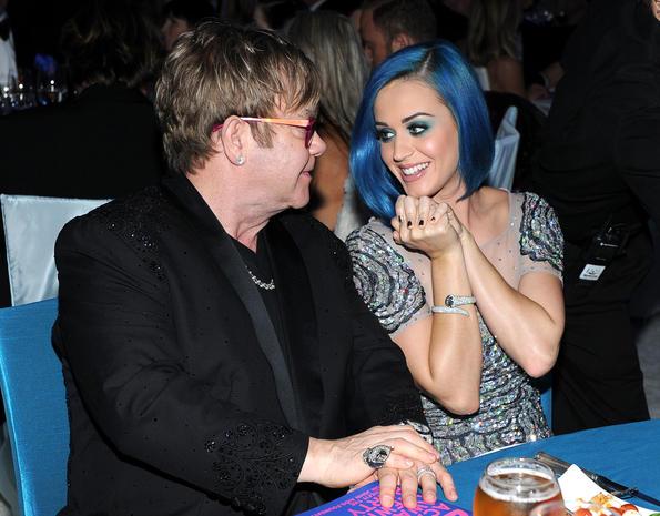 Elton John's Oscar-watching party