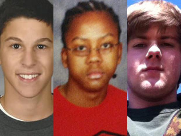 Daniel Parmertor,Demetrius Hewlin和Russell King Jr.