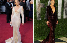 Stars change from Oscars to after-party