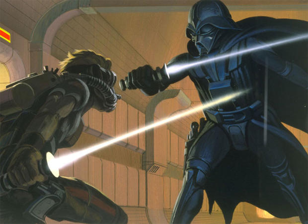 """Star Wars"" art by Ralph McQuarrie"