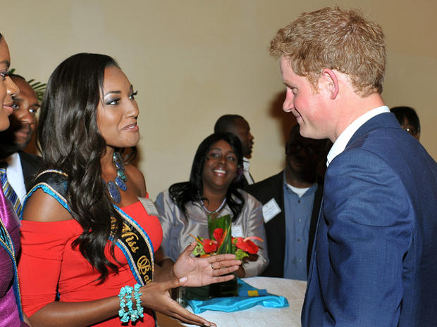 Prince Harry kicks off Diamond Jubilee tour