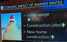 Warmest winter in a decade impacting economy