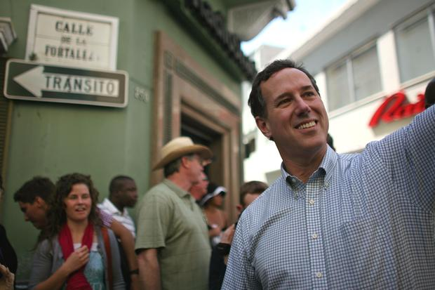 Rick Santorum, Puerto Rico