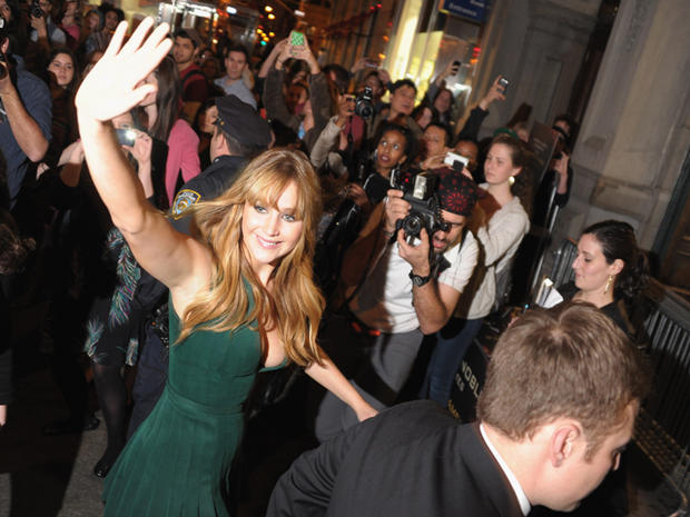 """""""The Hunger Games"""" cast takes NYC"""