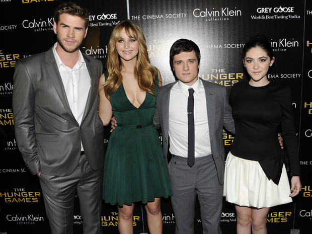 """The Hunger Games"" cast takes NYC"