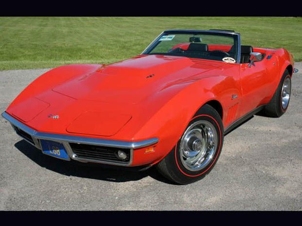 Corvettes through the years