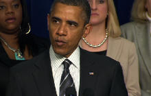 Obama welcomes latest Jobs Report