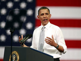 "Obama campaign pushing vote on ""Buffet Rule"""