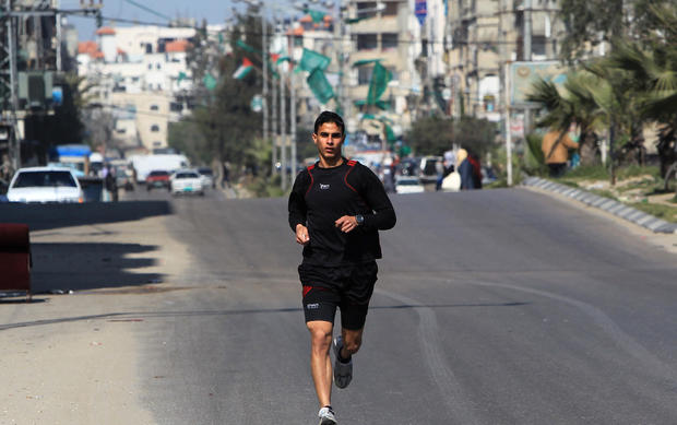 Athletes chase Olympic dreams