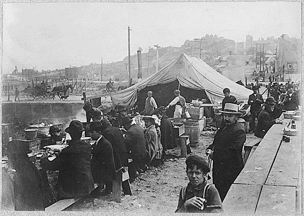 Anniversary of 1906 San Francisco earthquake