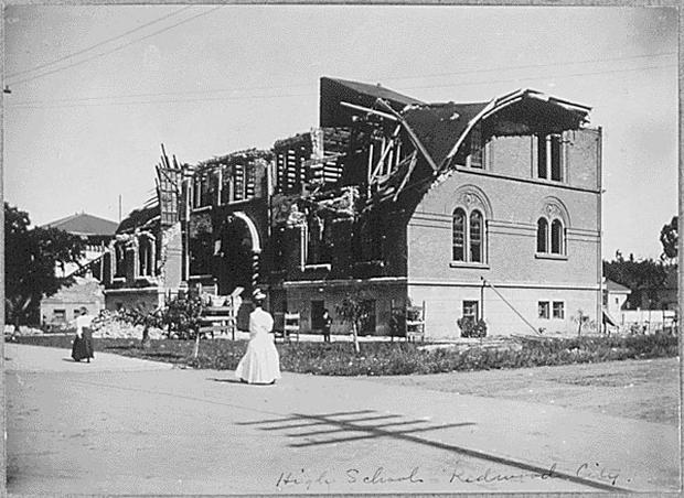 Anniversary of 1906 San Francisco earthquake