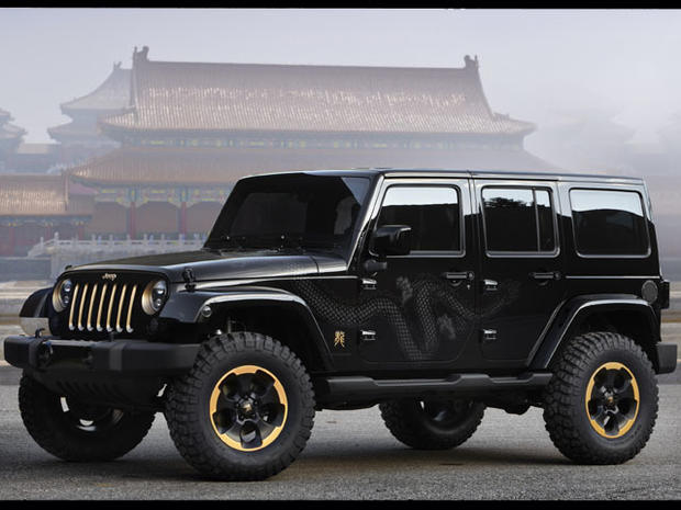 "Jeep Wrangler ""Dragon"""