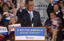 "Romney: ""A better America begins tonight"""