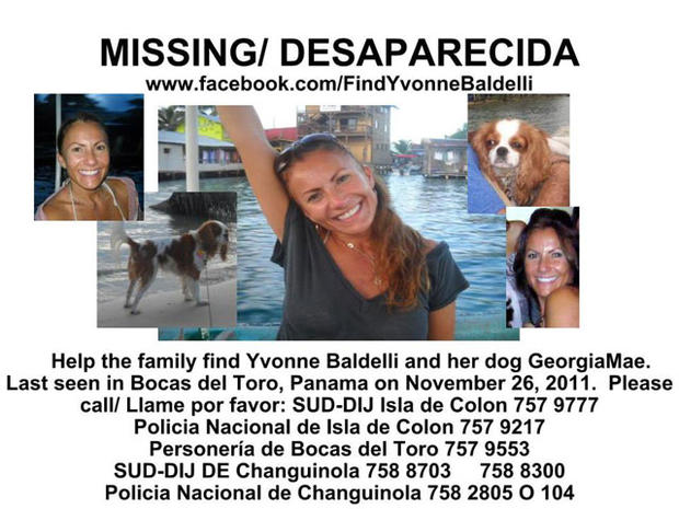 Remains of missing Calif. woman found in Panama
