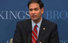 Rubio speaks on foreign policy, criticizes Obama on Libya, Syria