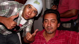 uillermo Luna Varela, left, and Gabriel Huge