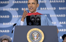 Obama delivers Barnard College commencement speech