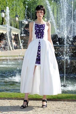 Chanel's catwalk at Versailles