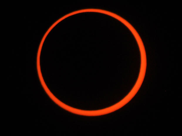 """""""Ring of Fire"""" solar eclipse"""