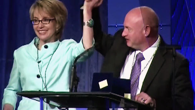 Former Rep. Gabby Giffords and husband Mark Kelly launch ...