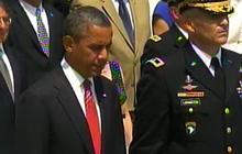 Obama lays Memorial Day wreath