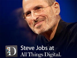 Steve Jobs AllThingsD interviews now available on iTunes