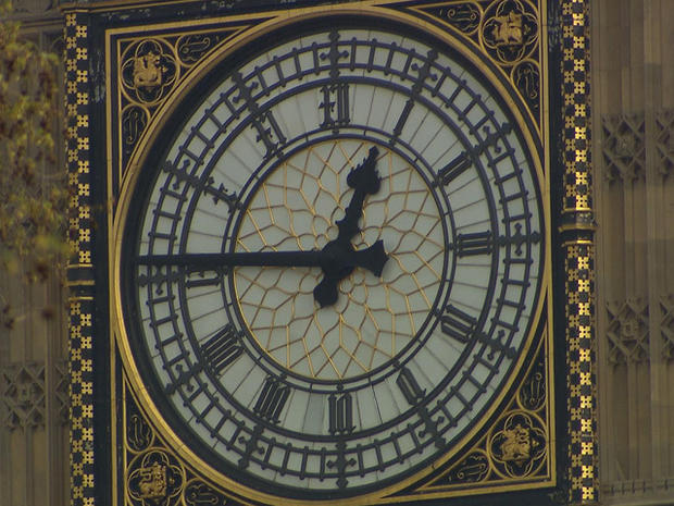 A rare look inside London's Big Ben