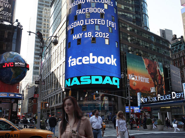 Facebook's first year on Wall Street