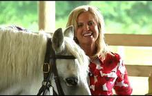 Ann Romney's horse falls asleep