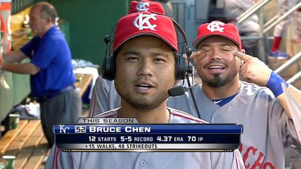 Bruce Chen and Humberto Quintero