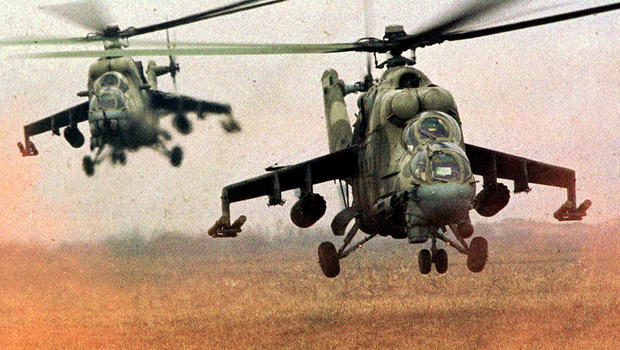 State Department: Syria-bound Russian attack helicopters ...
