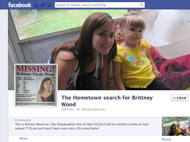 Ala. teen mom Brittney Wood missing