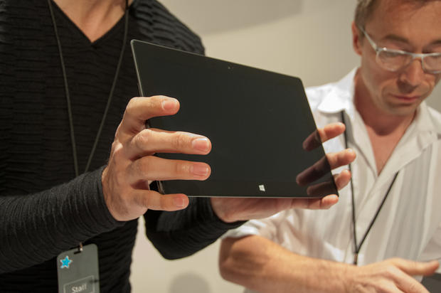 A closer look at Microsoft's Surface tablet