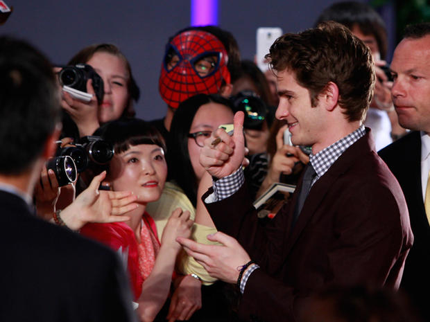 """""""The Amazing Spider-Man"""" premieres around the world"""