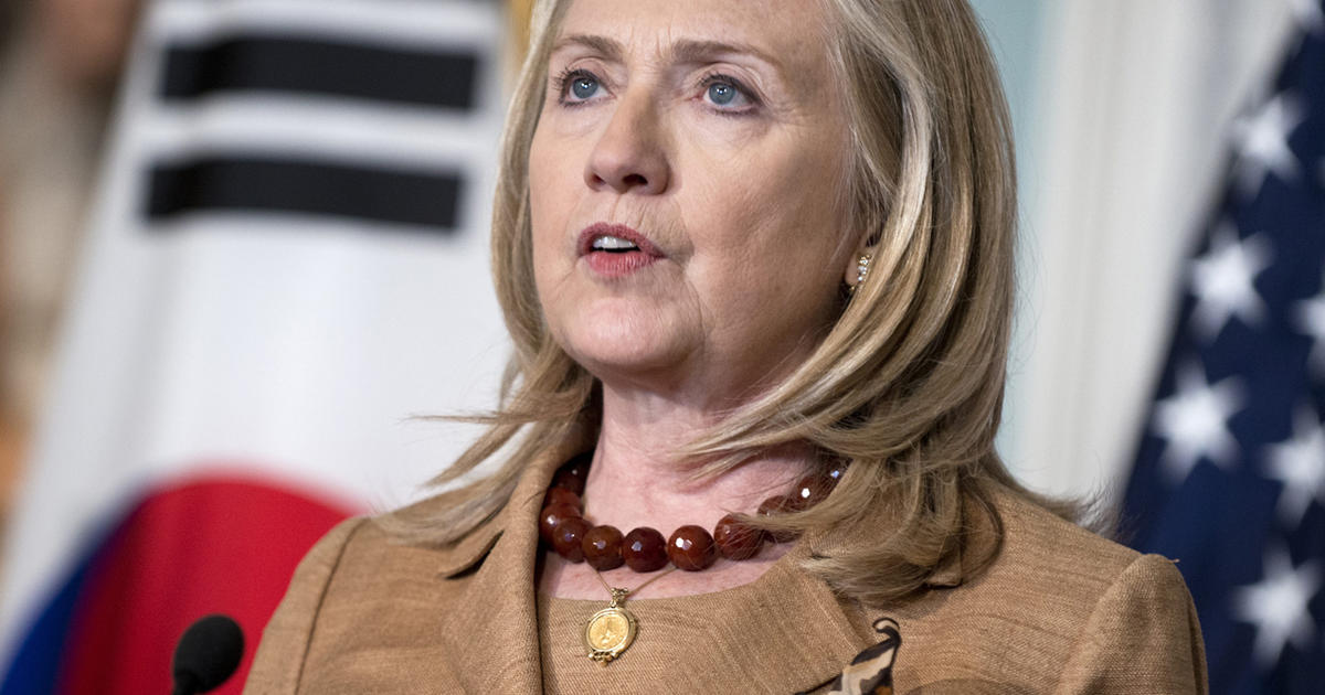 hillary clinton most traveled secretary of state in u s history cbs news. Black Bedroom Furniture Sets. Home Design Ideas