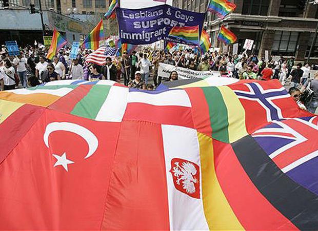 Immigration rallies